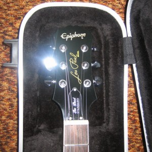 Epiphone Les Paul Standard (Blue) with Marshall 30w Amp