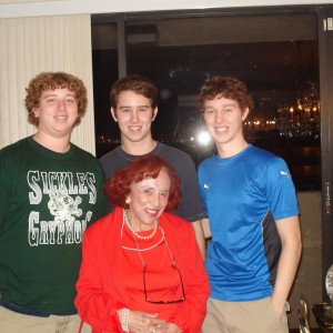 Brother Nick, Brother Sam, Myself, Aunt Rose