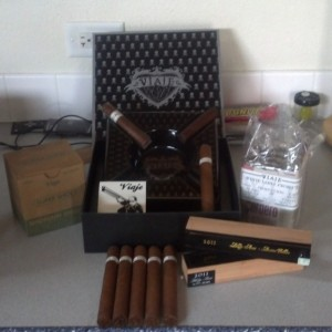 New cigars and some swag