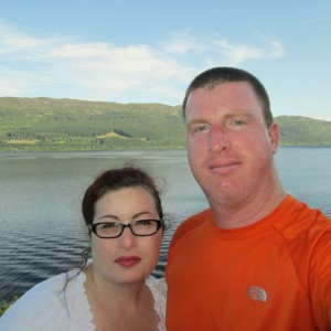 Wife and I at Loch Ness