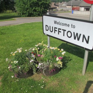 Welcome to Dufftown, home of Balvenie, Mortlach and others.