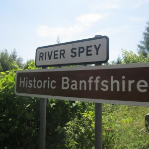 Where the Speyside region gets its name from.