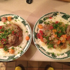 Osso Buco Havarti Grits