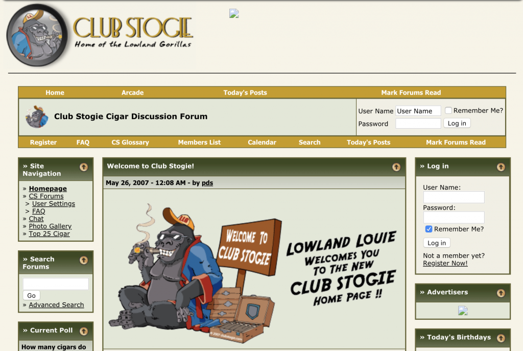 Club Stogie Cigar Forum